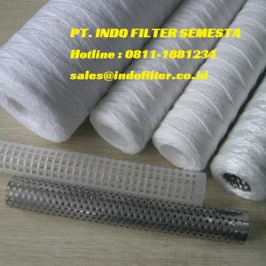 String Wound Filter Cartridge 100 Micron
