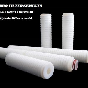 pp pleated cartridge filter 0.45 micron