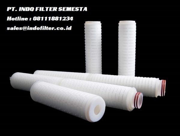 pp pleated cartridge filter 1 micron